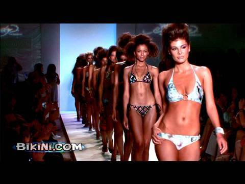 Ed Hardy and Christian Audigier Swimwear 2010 Fashion Show